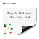 ZHIDIA office 23×18 Inches Large small wall Sticker Magnetic White boards Dry Erase Surface Adhesive